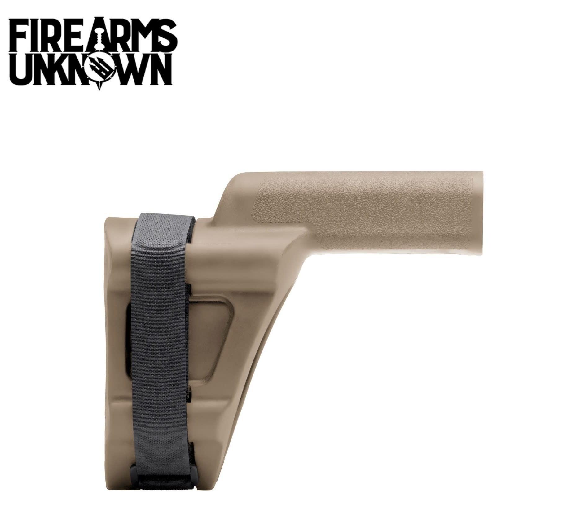 SB Tactical SBV Pistol Stabilizing Brace FDE