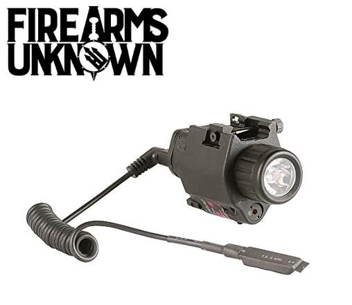 CAA Tactical Light and Laser Combo Fits Picatinny Black