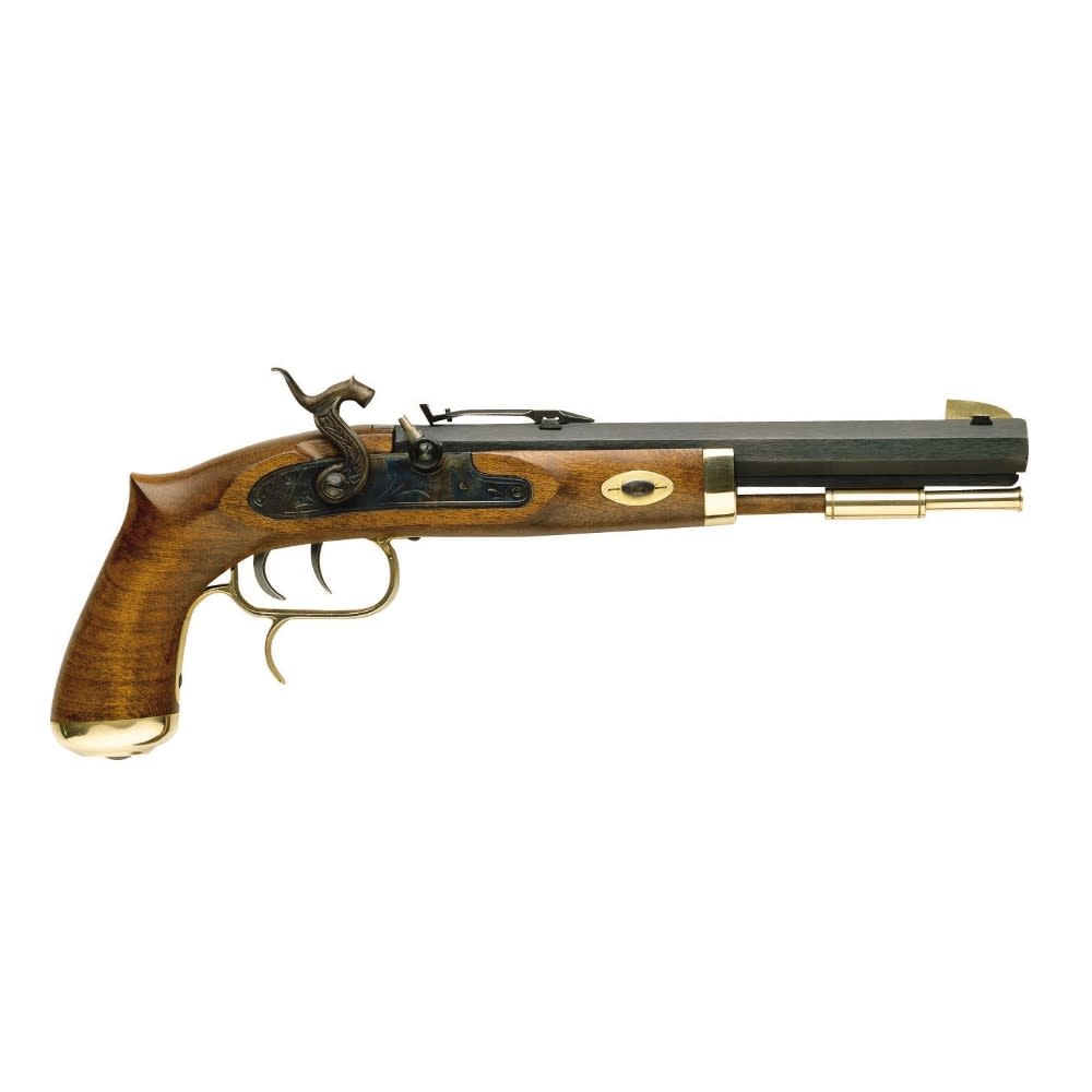 """Traditions Trapper Pistol / Select Hardwood / Perc./.50 / 9.75"""" Blued/15.5""""/6"""