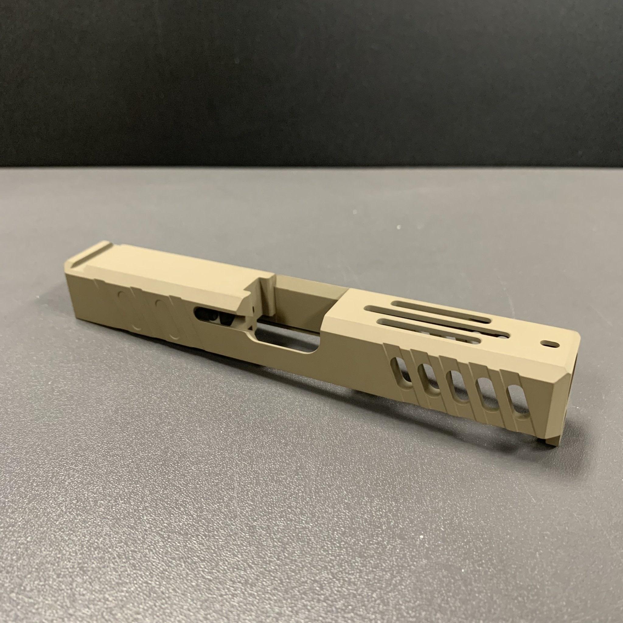 FU Glock Slide T2 Stripped G23 40 S&W