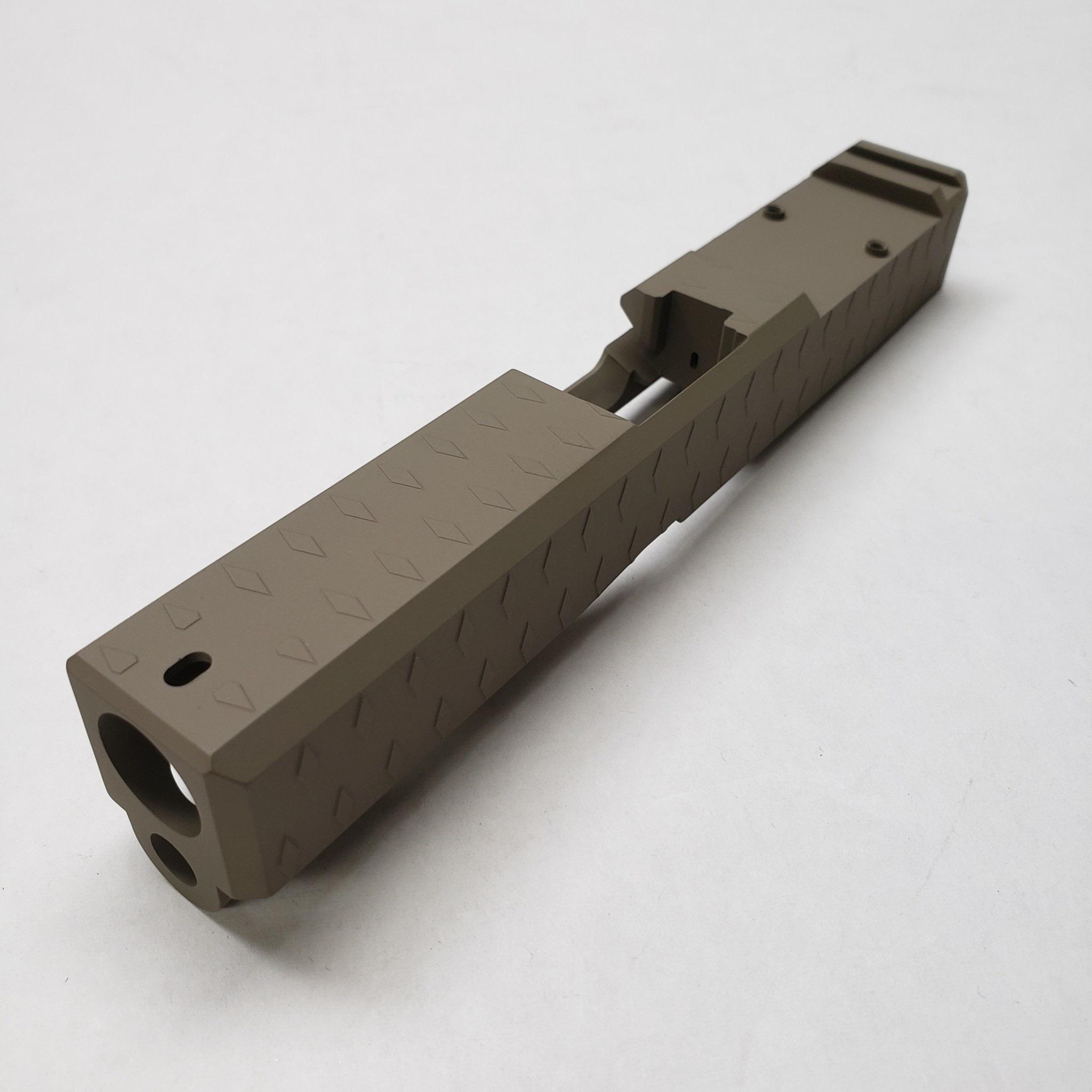FU Glock Slide T3 Stripped G23 40 S&W