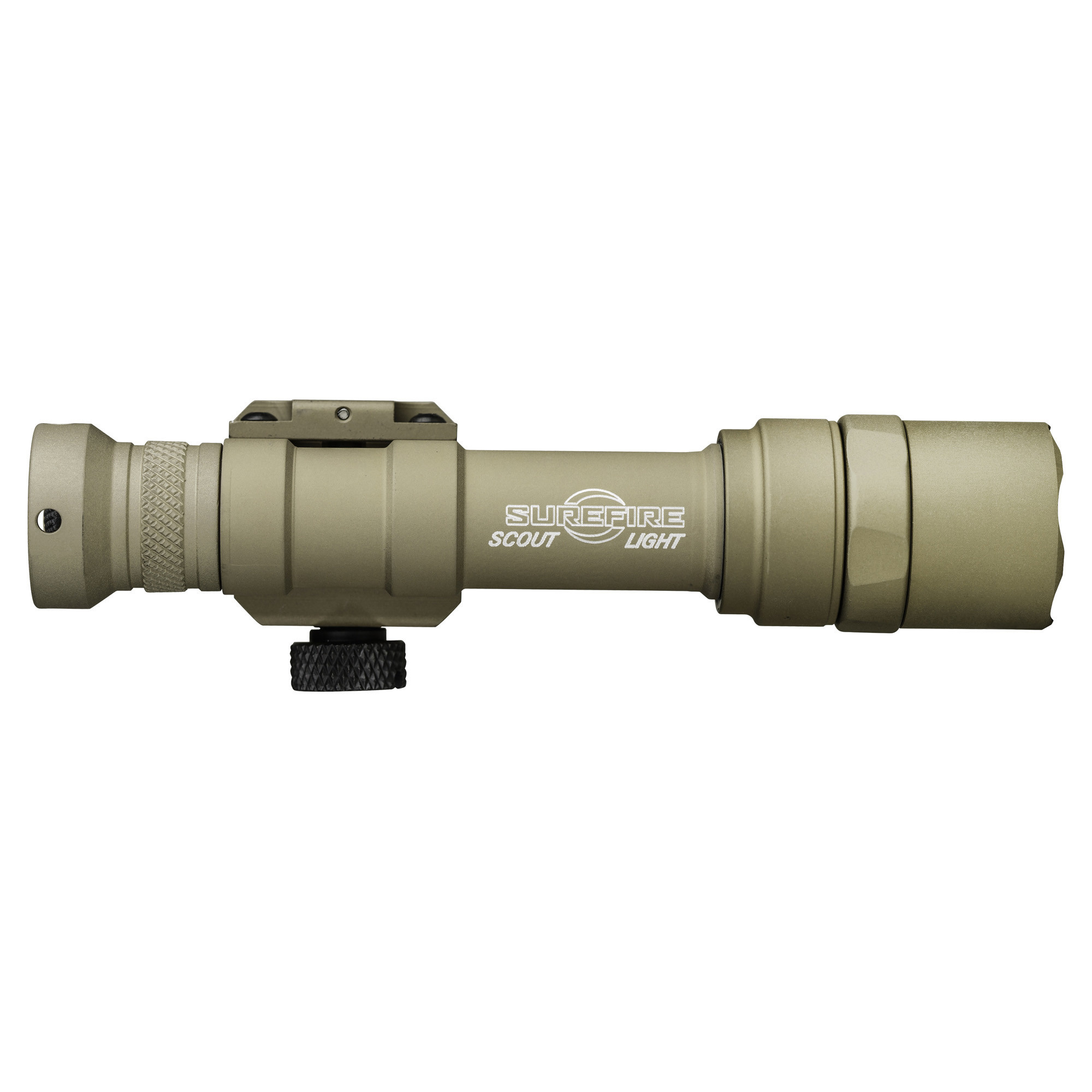 Surefire M600U Scout Weaponlight Picatinny 600 Lumen Z68 On/Off Tailcap Tan