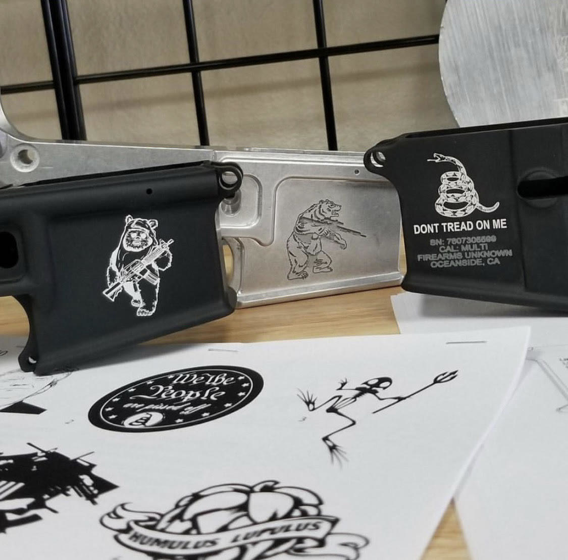 Armorer's Work and Laser Engraving