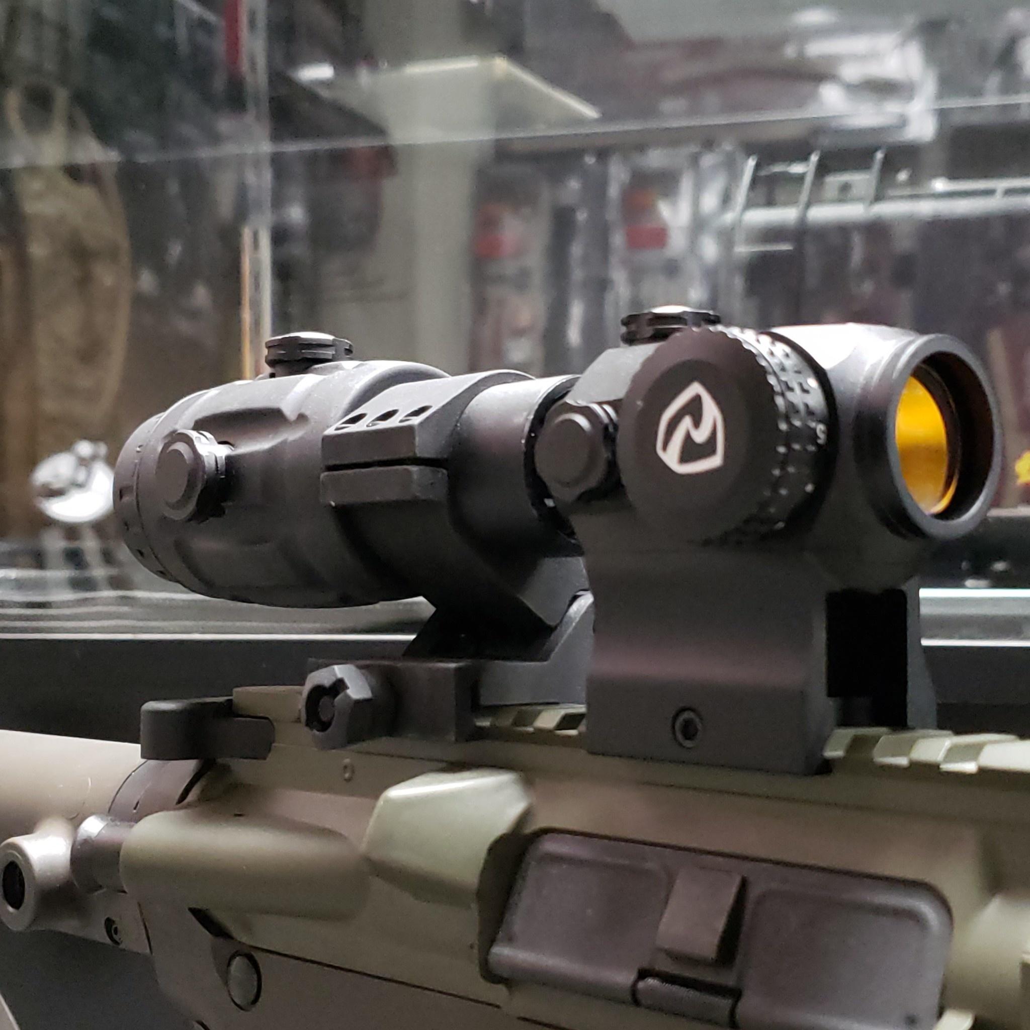 Riton RT-R Mod 3 Micro Red Dot with Riton RT-R 3x Magnifier