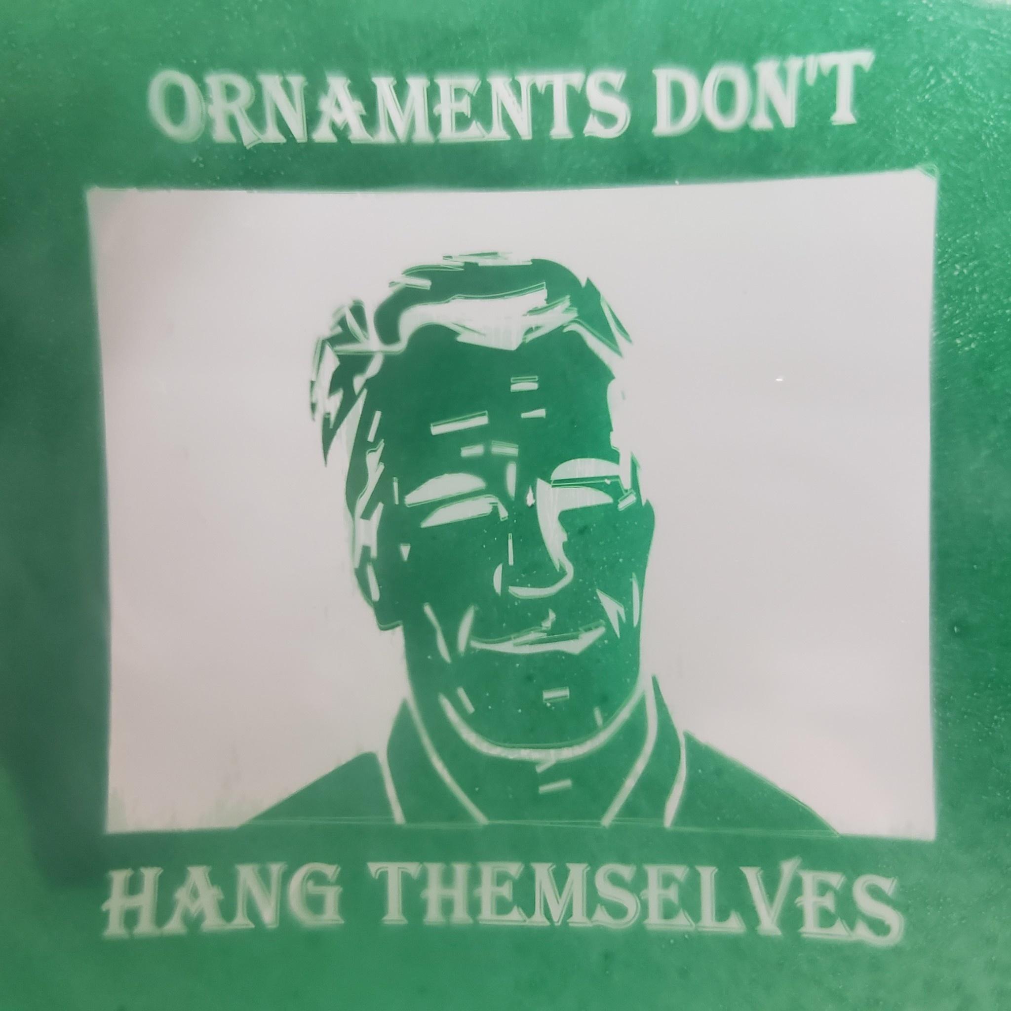 Non-self Hanging Christmas Ornaments