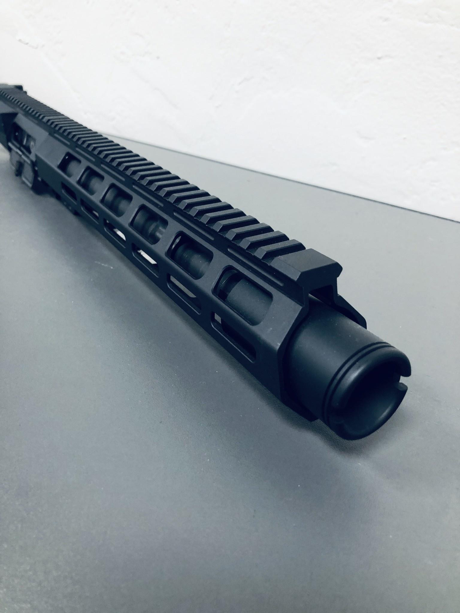 """NC Custom 10.5"""" LR308 1:10 416R CAR Duel Ejector BCG 12.5"""" KRAIT Upper w/ Flash Can"""