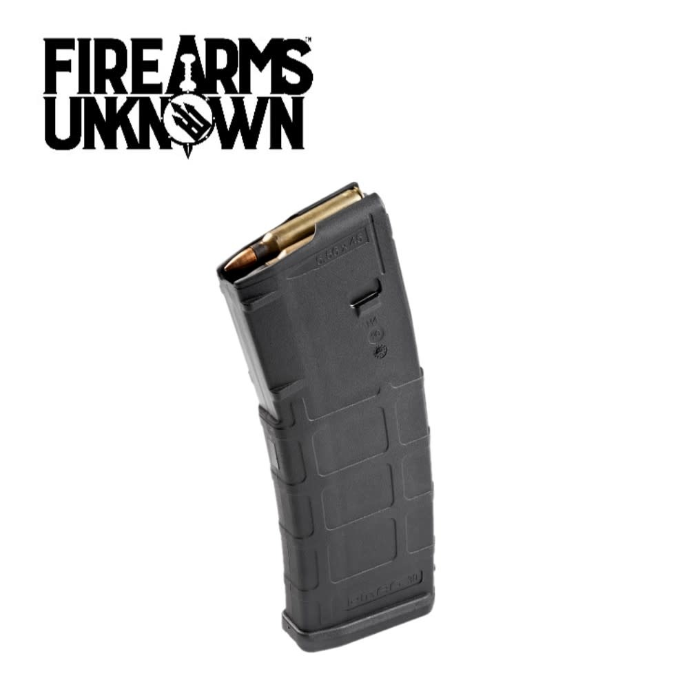 Magpul PMAG Gen M2 AR-15 Magazine .223/5.56 10/30 Rounds Polymer Black MAG571-BLK