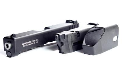 "Advantage Arms, Conversion Kit, 22LR, 4.02"" Barrel, Fits Glock 19/23 Gen3, With Range Bag, Black Finish 1-10Rd Magazine"