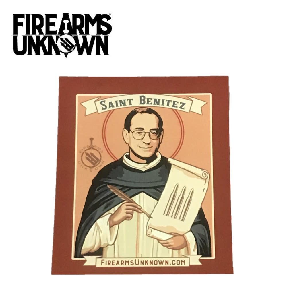 Saint Benitez Sticker