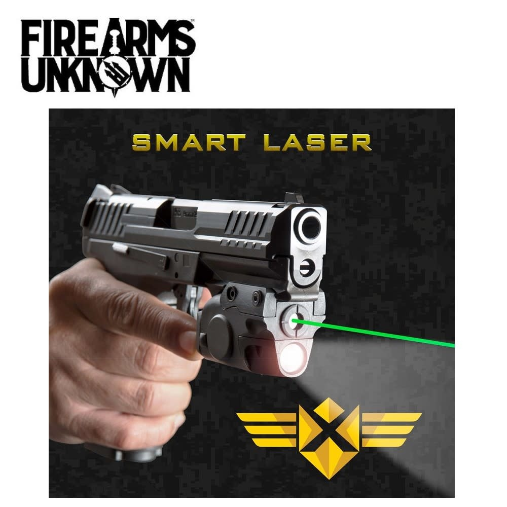XTECH Smart Laser™ – Sensor Activated Green Laser/Light Combo