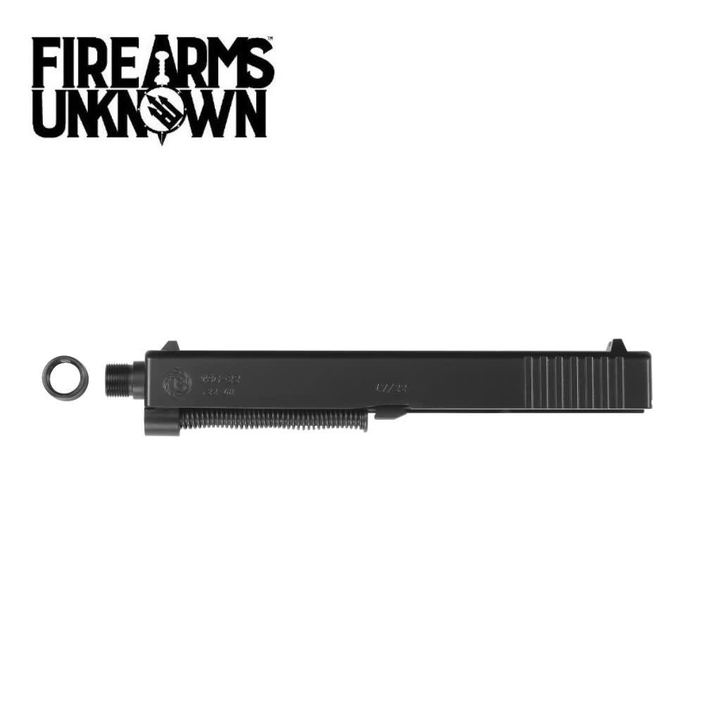 Tactical Solutions Glock 17/22 TSG-22 Conversion Kit 22LR Threaded Barrel Black