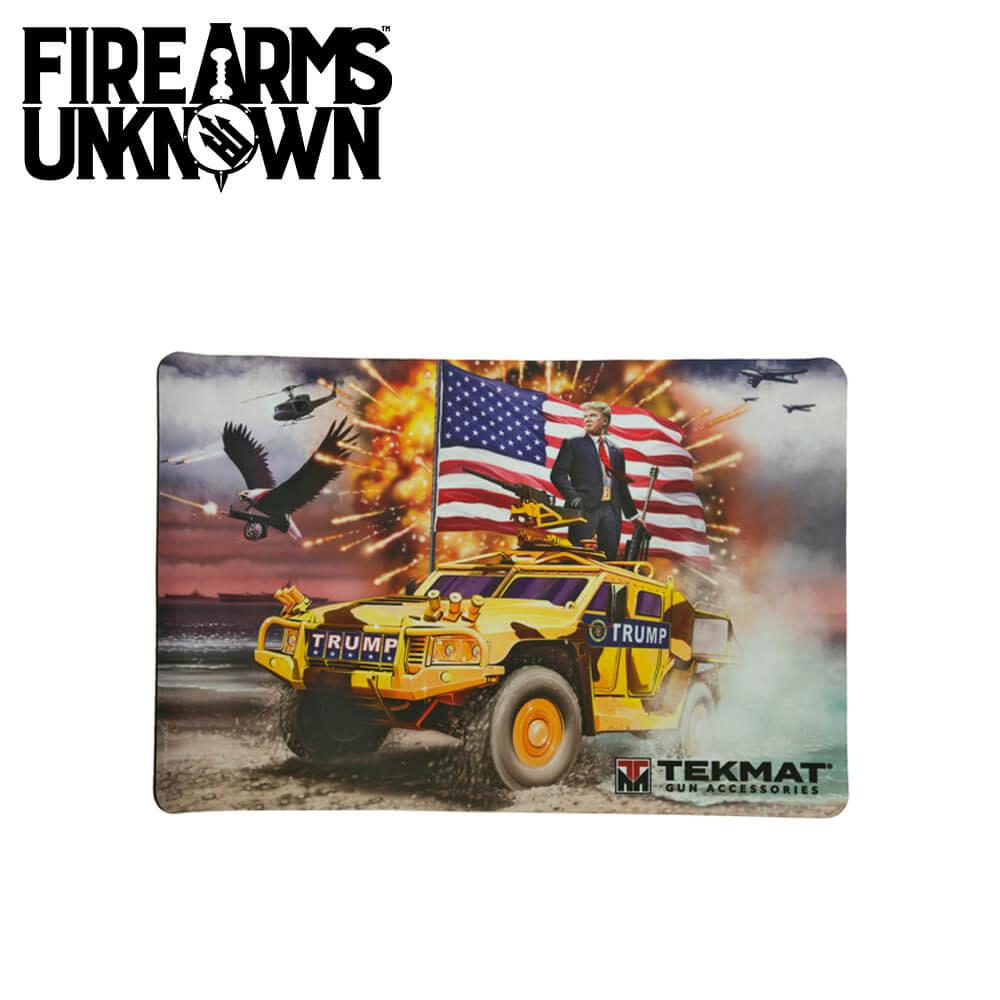 """TekMat Trump Gun Cleaning Mat 11""""x17"""""""