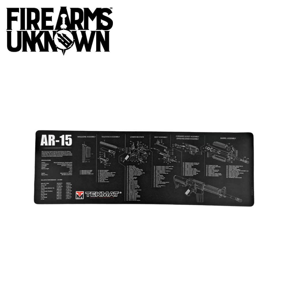 """TekMat AR-15 Rifle Mat 12""""x36"""""""