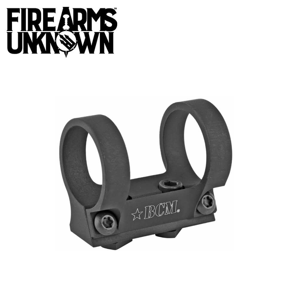 "Bravo Company, 1"" Ring Light Mount, MLOK Compatible"