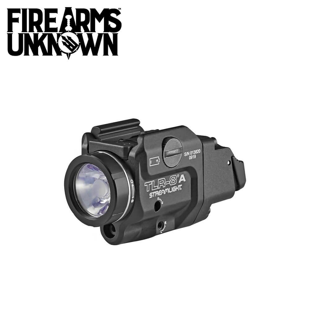 Streamlight TLR-8A Flex Rail Mounted Pistol Light