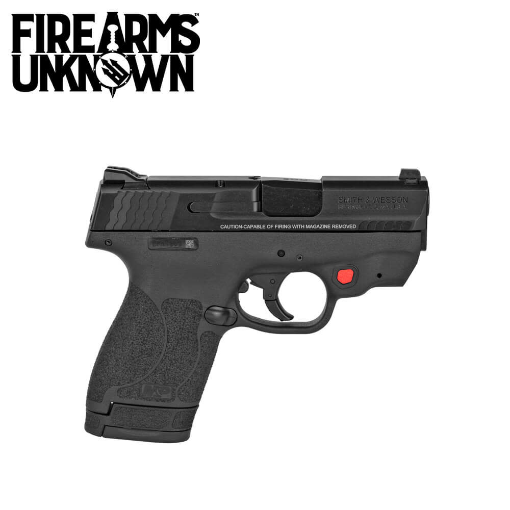 Smith & Wesson M&P9 Shield M2.0 Red Laser Pistol 9MM