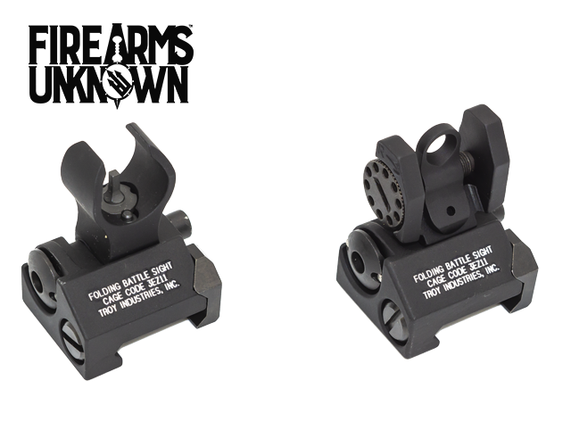 Troy Battlesight Micro Front/Rear Black HK