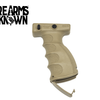 F.A.B., AG-44S, Quick Release Ergonomic Foregrip, Fits Picatinny, FDE