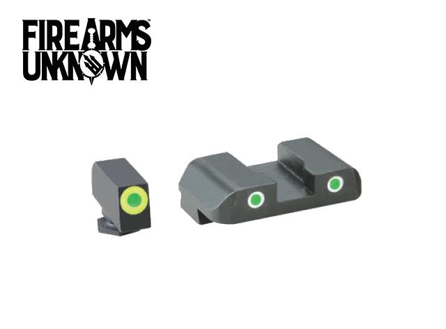 Ameriglo GL-243 Glock Sights  Pro-Glo Tritium Green Front