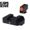 Ameriglo GL-201 Glock Sights Pro 1-Dot Tritium Front Orange