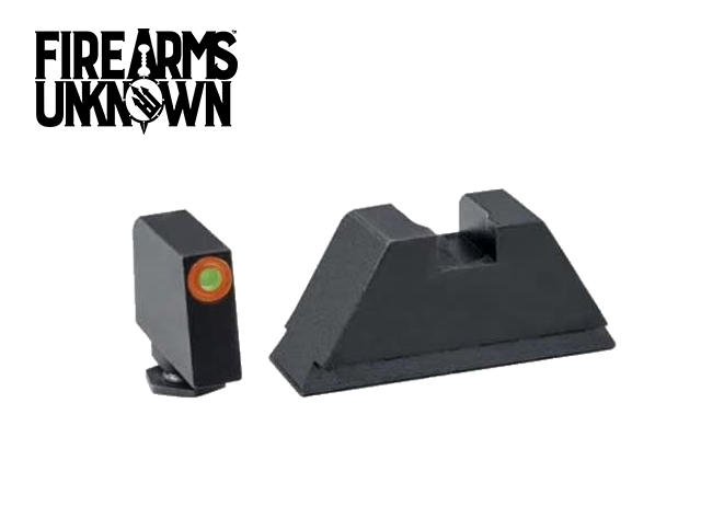 Ameriglo GL-511 Glock Suppressor Sights Tritium Front Orange
