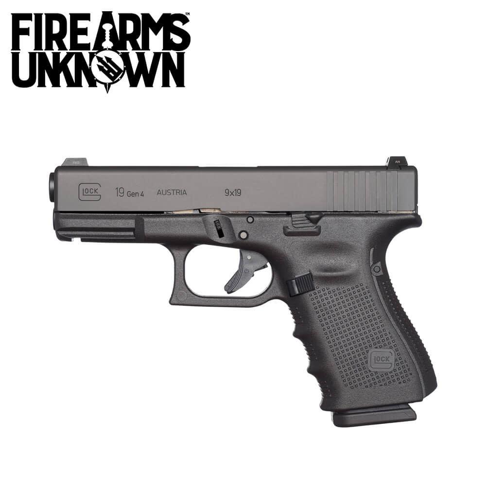 Glock G19 Gen 4 Pistol 9MM