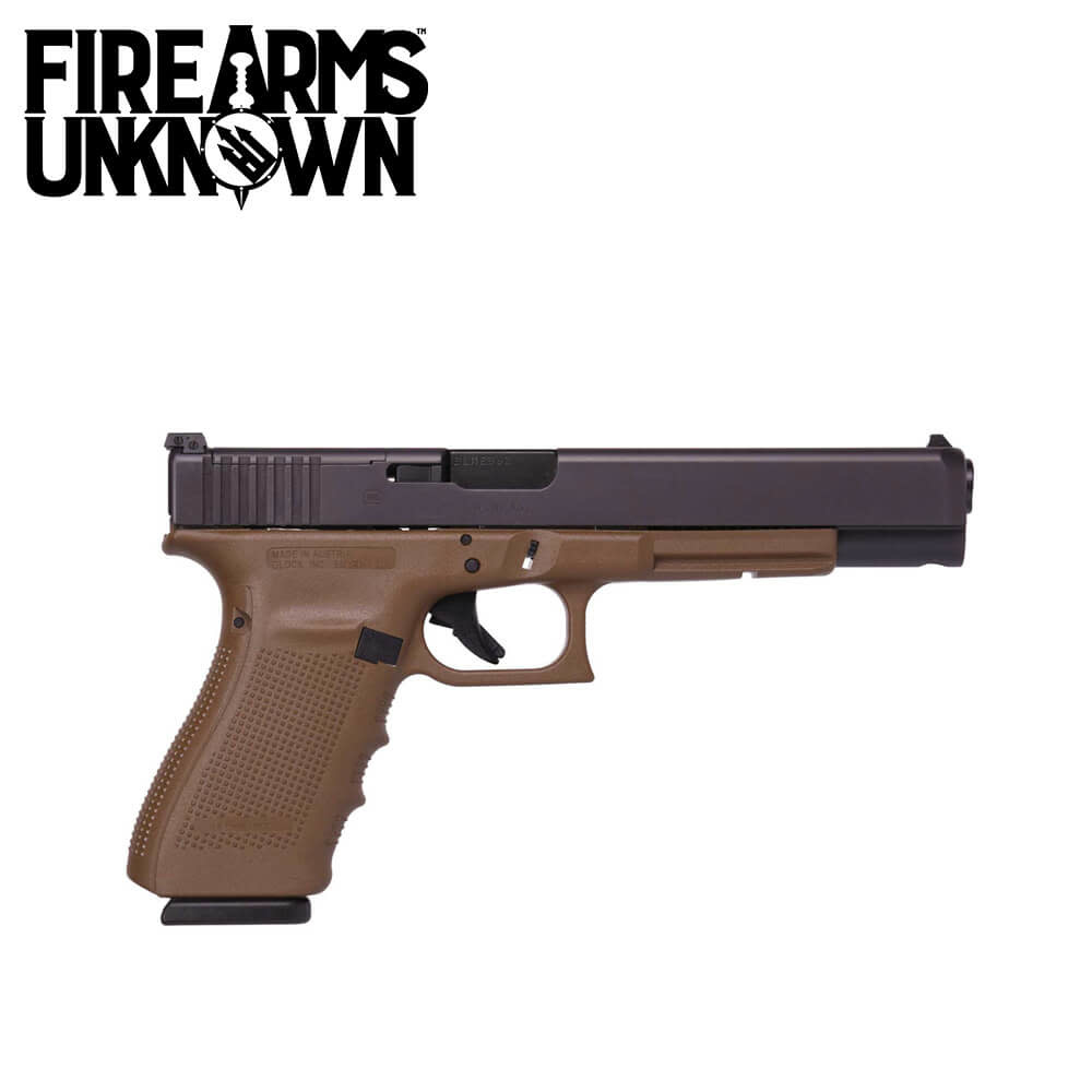 Glock G40 Gen 4  MOS Pistol 10MM FDE