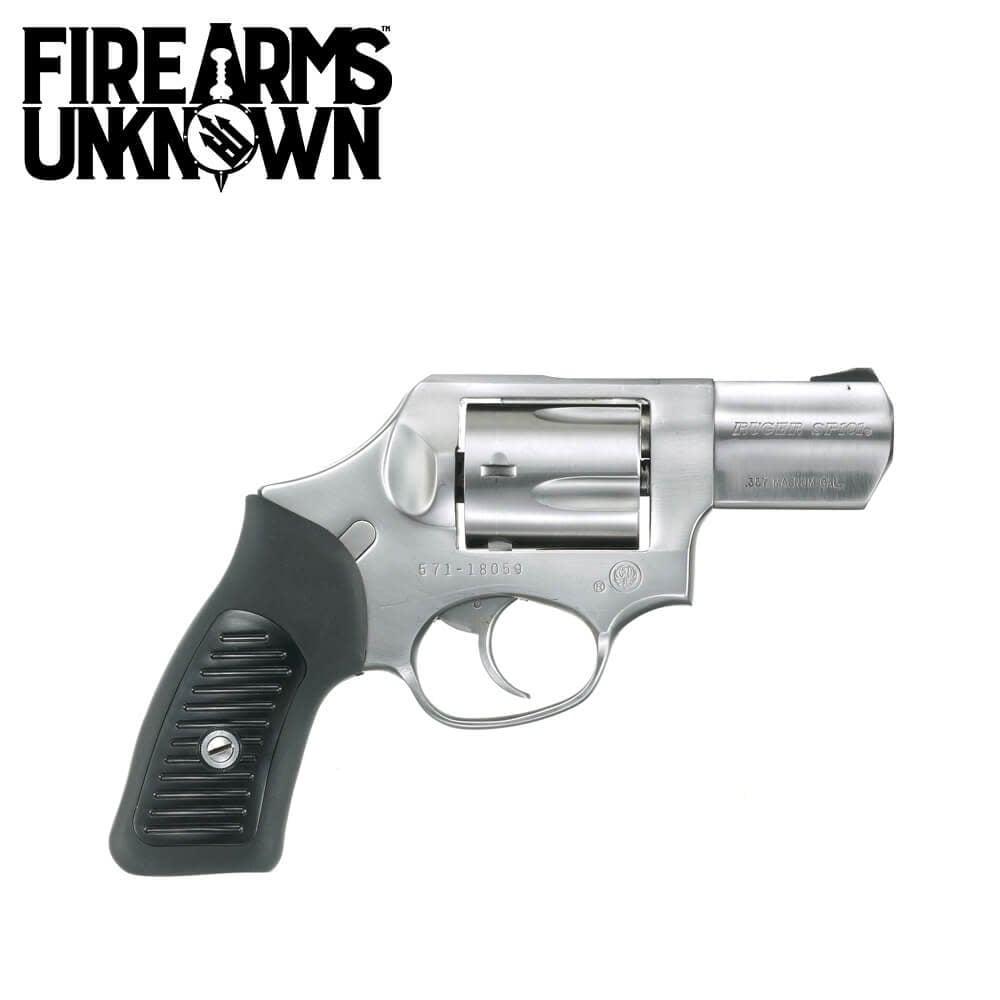 Ruger SP101 Spurless Hammer Revolver .357 MAG