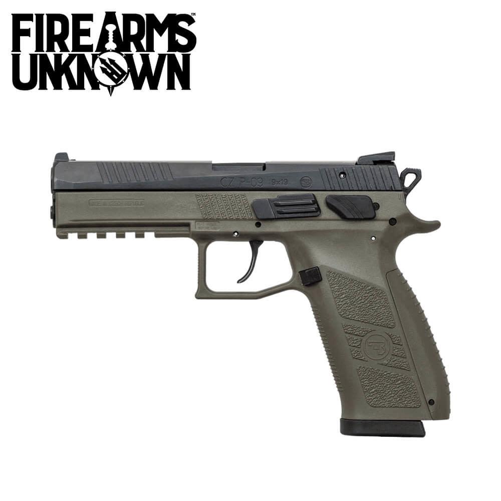 CZ-USA P-09 Pistol 9MM ODG