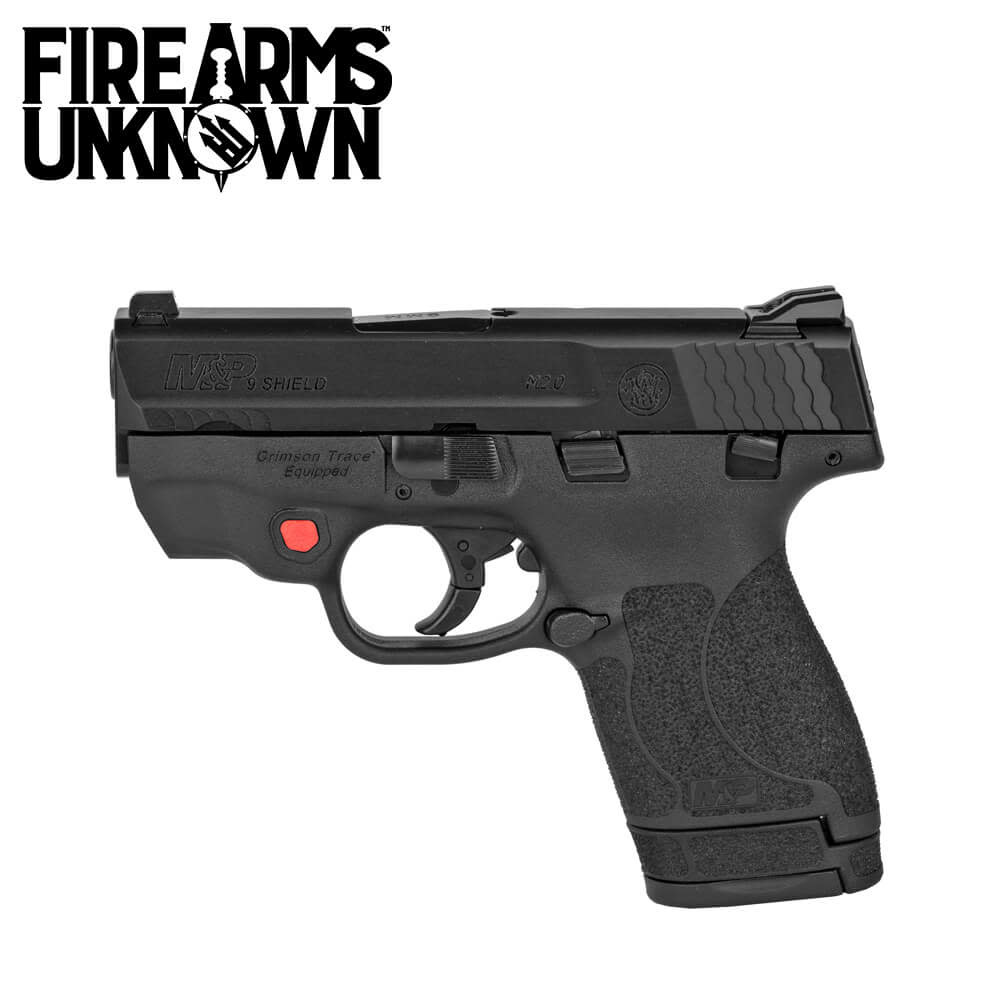 Smith & Wesson M&P9 Shield M2.0 Red Laser