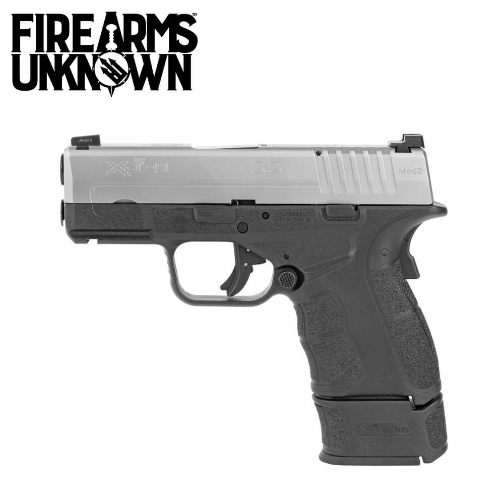 Springfield Armory XDS-Mod 2 SS Slide Pistol 9MM