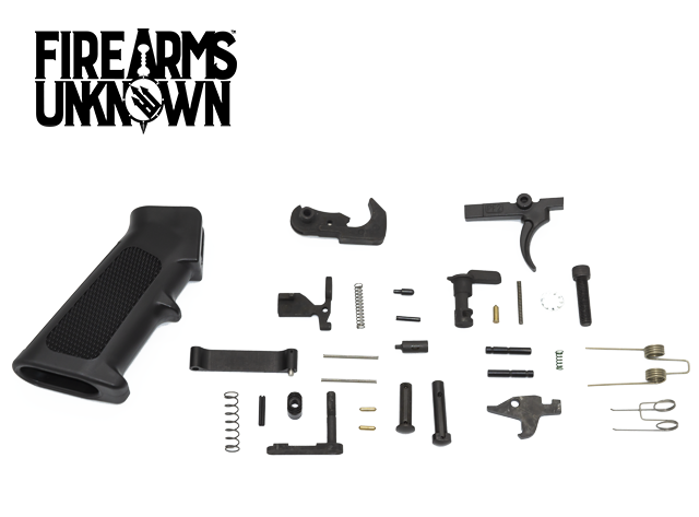 US Made AR15 Lower Parts Kit Complete