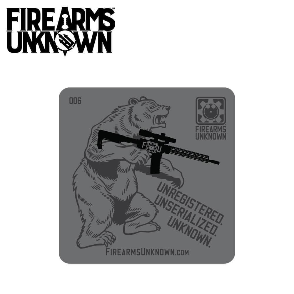 FU Coaster No. 006 - Bear Arms