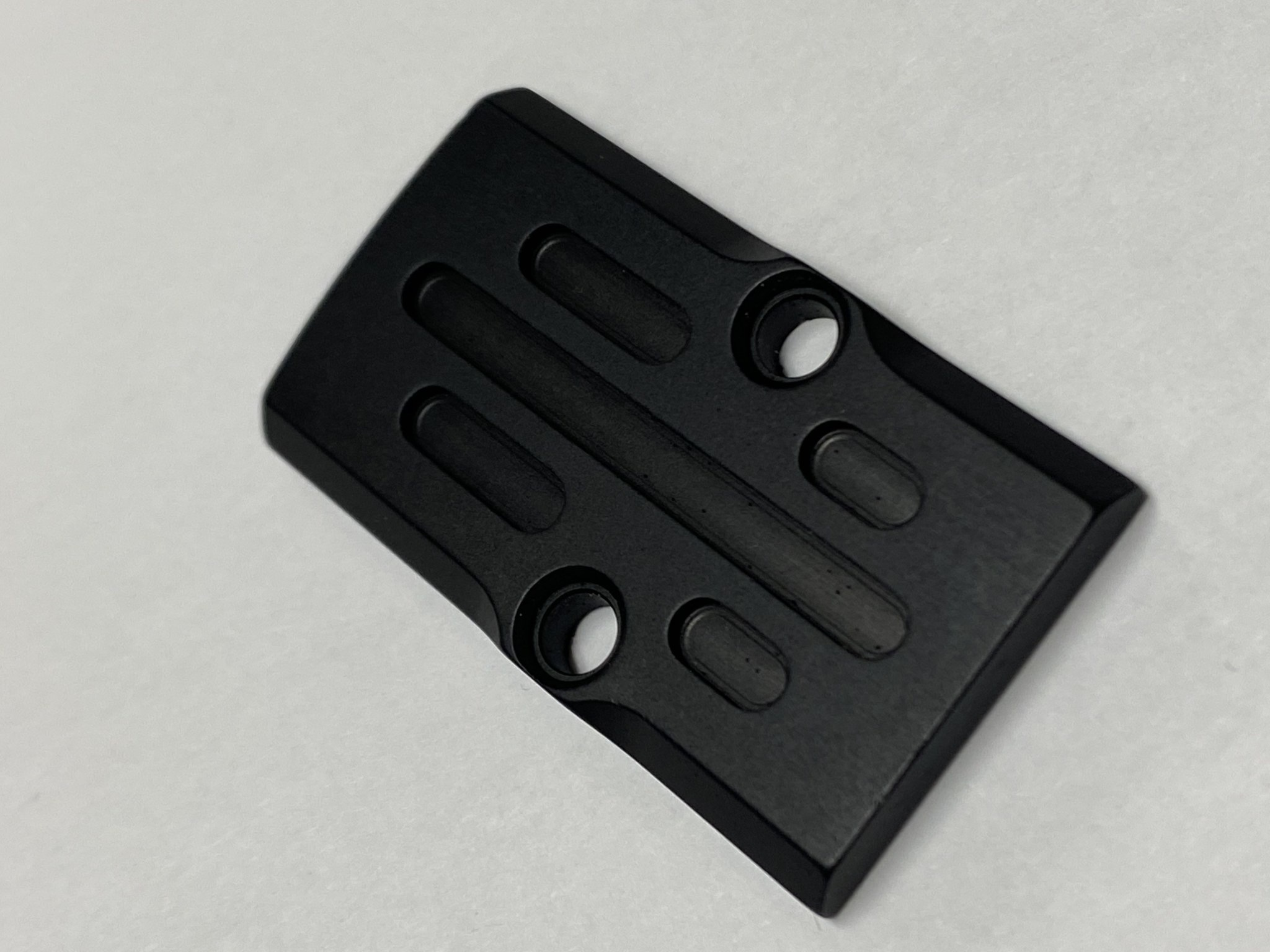 RMR Plate Black