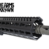 "The Capitol Key, Pistol Upper 7.5"" 5.56 NiB BCG Free Float Key Mod"