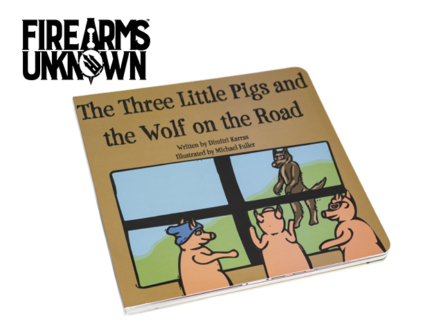 The Three Little Pigs and the Wolf on the Road - Children's Book 1