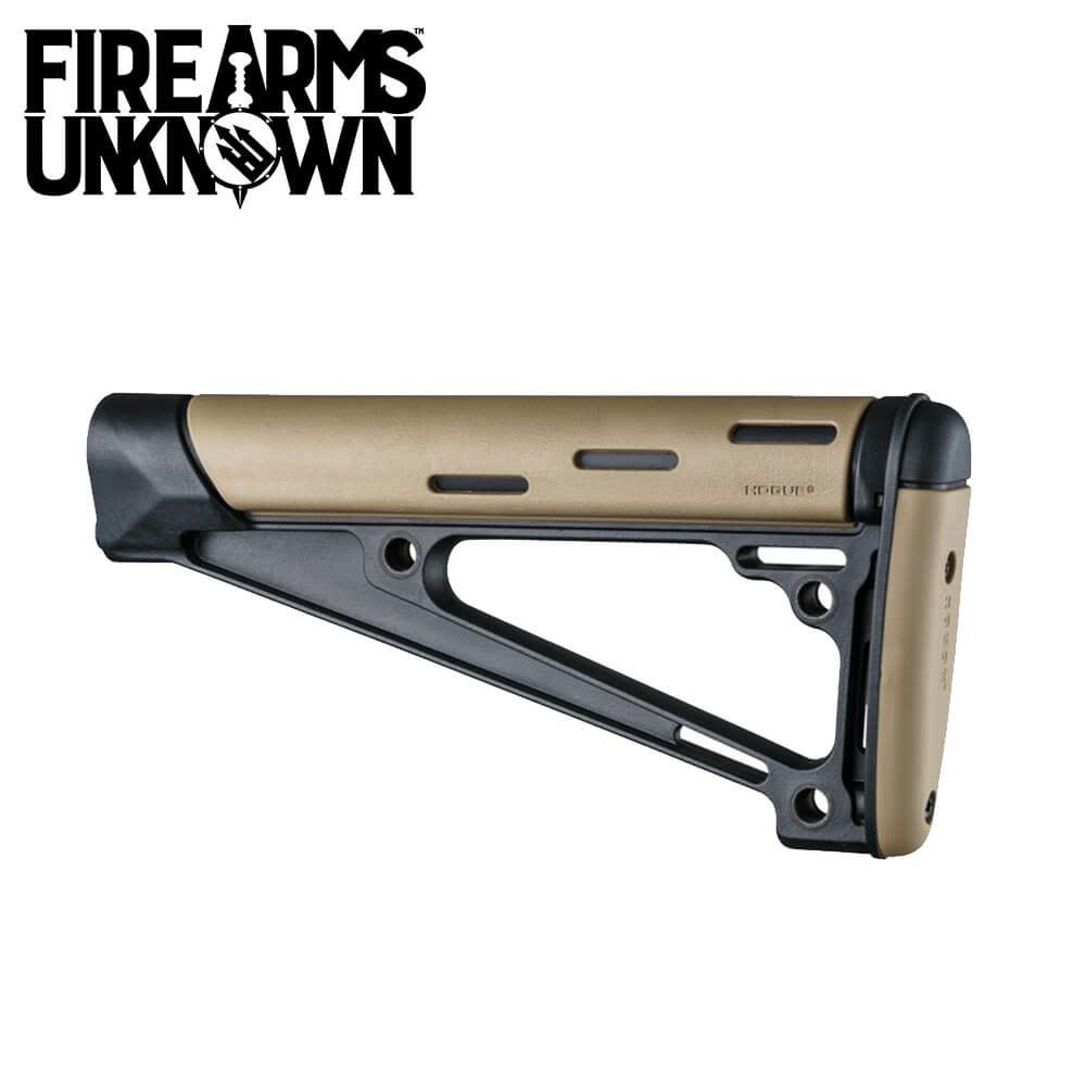 Hogue AR15 OverMolded Fixed Buttstock