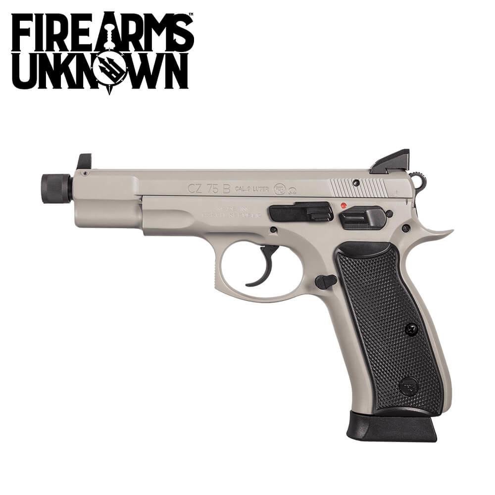 CZ 75-B Omega Pistol 9MM Urban Gray
