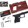 P80 PF9SS™ 80% Single Stack Frame Kit Black