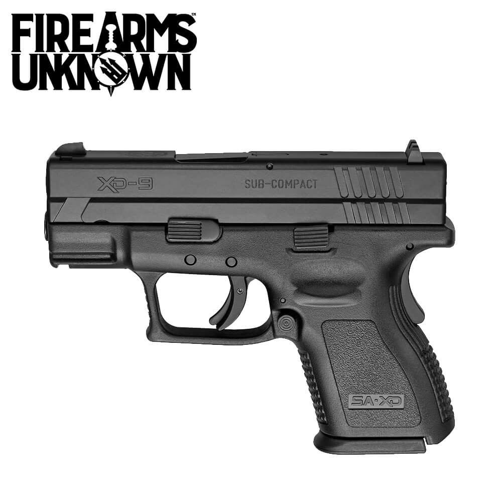 """Springfield Armory DEFENDER XD SC 9MM 3"""" BLK Pistol 9MM"""