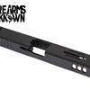 FU Glock Compatible Slide T4 Stripped G17 9mm Black