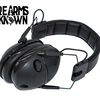 3M Peltor, Tactical Sport Electronic Earmuff, Foam, Black, NRR 22