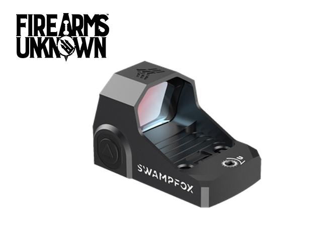 Swamp Fox Optics, Sentinel, 1x16 Ultra-Compact Micro Red Dot – Manual Brightness