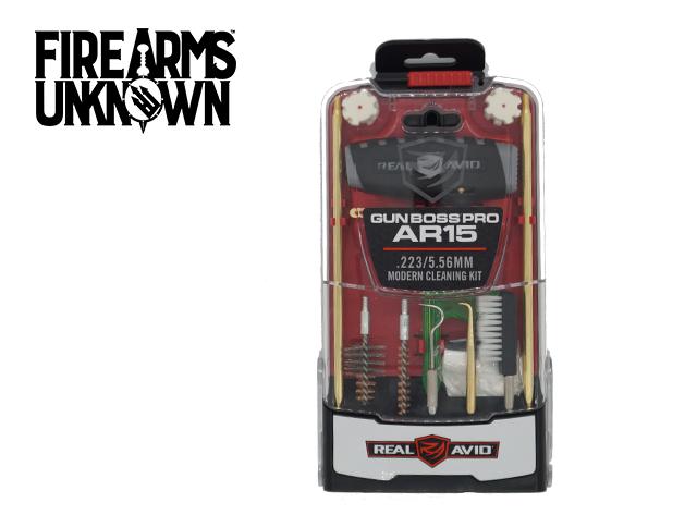 Real Avid Gun Boss Pro AR15 Cleaning Kit