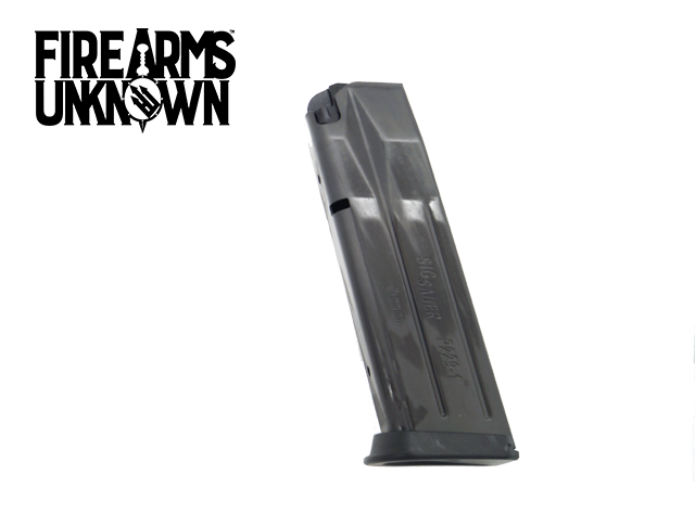 Sig Sauer, Magazine, 9MM, 15Rd, Fits E2 and Updated P229, Flush Fit, Blue
