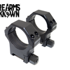 Riton Optics Hardened Steel 30mm Picatinny  Scope Rings, Medium (12mm)