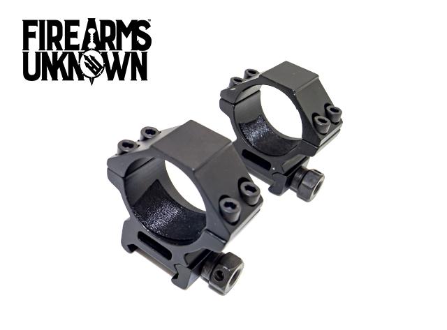 Riton Optics 30mm Scope Rings, Low