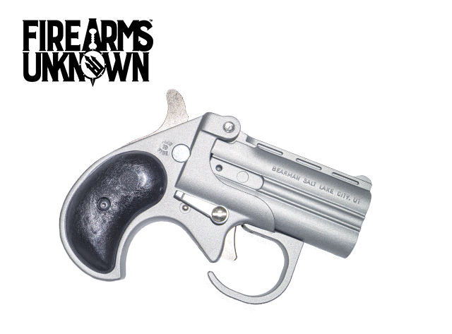 "Bearman Big Bore Derringer w/Guard 9mm 2.75"" , 2 RD Satin Finish"