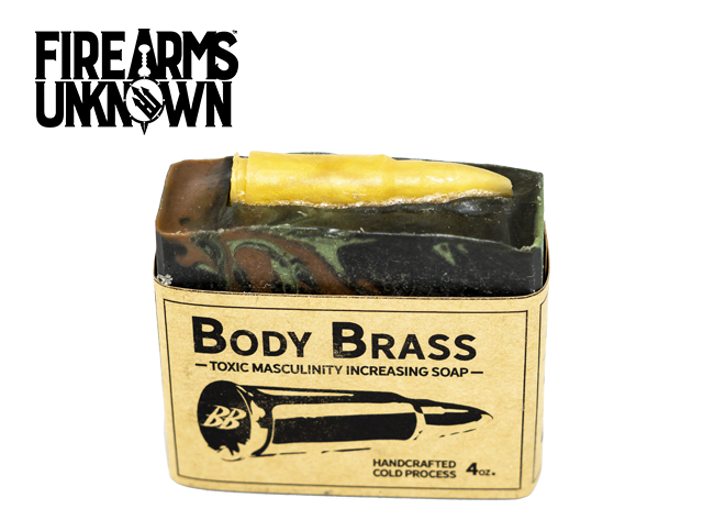 Body Brass - Toxic Masculinity Increasing Soap