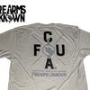Firearms Unknown FU Bear Arms Logo T-Shirt Grey